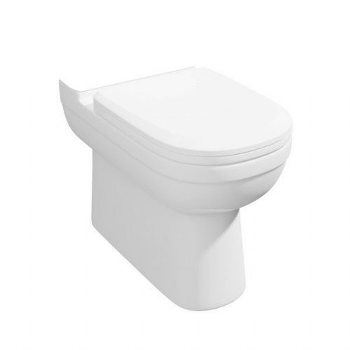 Kartell Lifestyle Comfort Height Back To Wall - Soft Close Seat - White